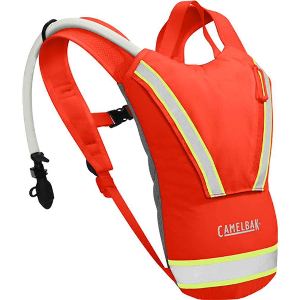 CamelBak Hi-Viz 62598 70oz 2L Hydration Backpack w Antidote Blaze Orange by Supplier Generic