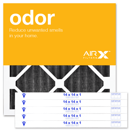 airx filters odor 14x14x1 air filter merv 8 ac furnace pleated air ...