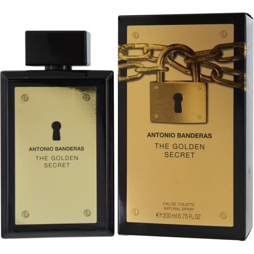 Antonio Banderas The Golden Secret Edt Spray 6.7 Oz By Antonio Bandera