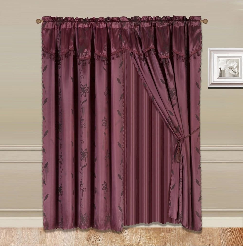 charleston sheer linen rod pocket panel and valance