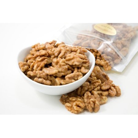 Roasted Walnuts (1 Pound Bag) (Salted) (Walnuts Roasted)