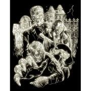 Monsters Glow In The Dark Engraving Art Kit