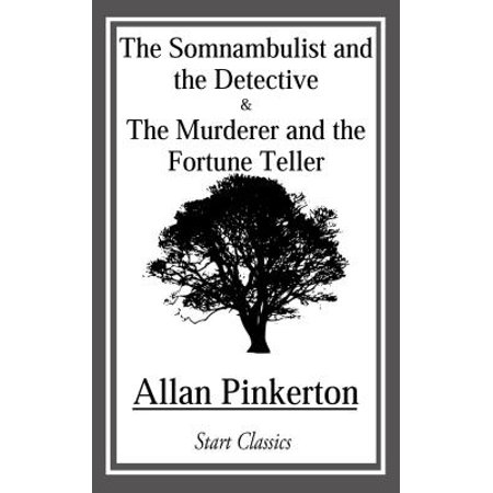 Somnambulist and the Detective and The Murderer and the Fortune Teller - - Halloween Paper Fortune Tellers