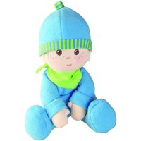 "HABA Snug-up Doll Luis 9"" First Boy Baby Doll - Machine Washable for Ages Birth and Up"