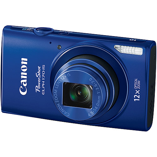 Canon PowerShot ELPH170 IS Digital Camera with 20 Megapixels and 12x Optical Zoom