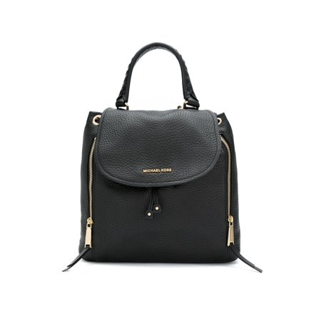 3af7de3feb6631 Michael Kors - Michael Kors Viv Ladies Large Black Leather Backpack  30F6GVBB3L001 - Walmart.com