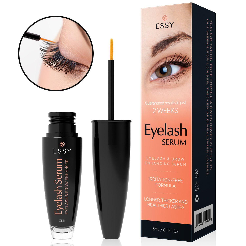 5eef92d3bff essy beauty eyelash growth serum for lash and brow irritation free formula  - Walmart.com
