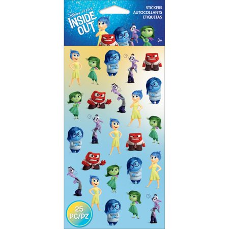 Disney Flat Stickers-emotions
