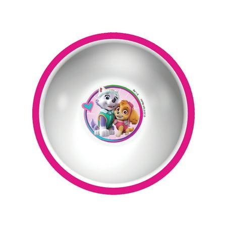 Playtex Mealtime Paw Patrol Bowl for Girls, Pink, 1 Pk