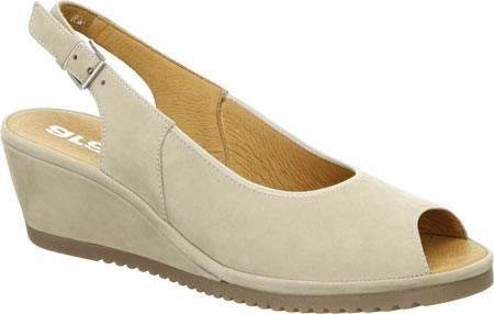 ara moon women's colleen wedge sandal, moon ara nubuck, 9.5 m us 1ea176
