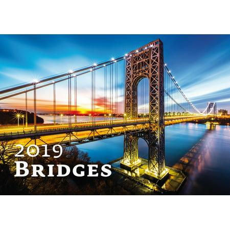 Bridges Wall Calendar 2019 by Helma
