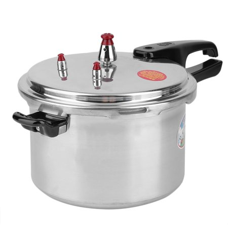 (Composite Bottom Large 6 Quart Aluminum Alloy Pressure Cooker Fast Cooking Pot Pan Kitchen Tool Cookware)