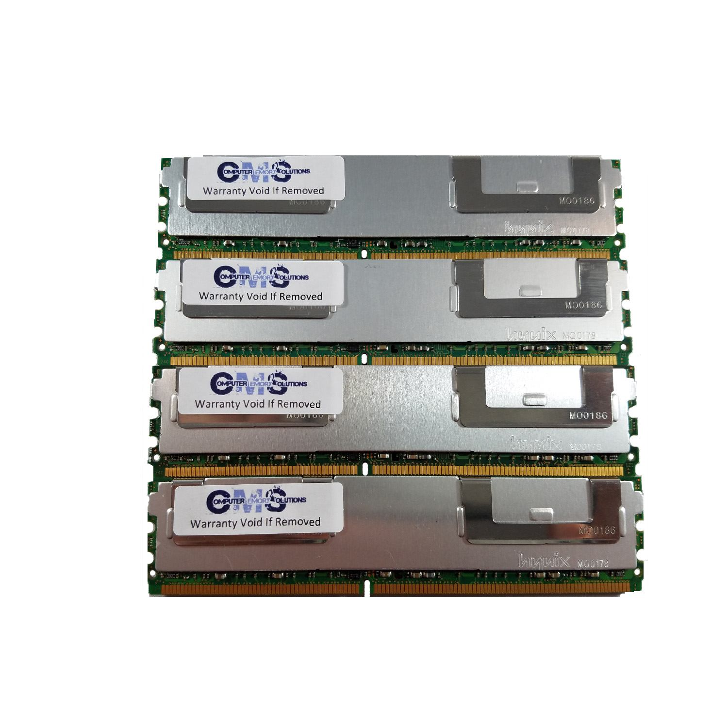 16gb (4x4gb) ram memory for dell poweredge sc1430 ddr2 fully buff for server only by cms b104