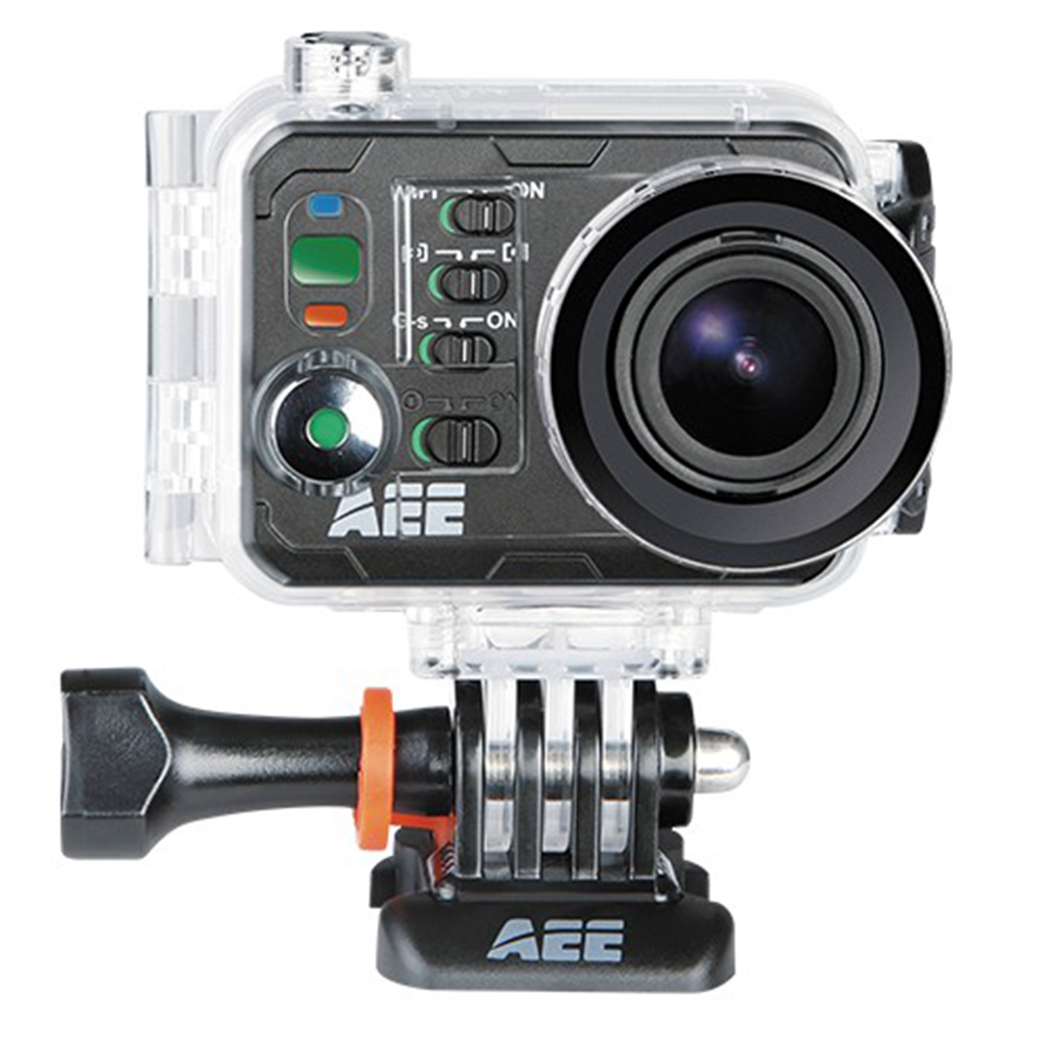 Image of AEE Magicam S70 HD 1080p Sports Action Waterproof Camera with WIFI - Black