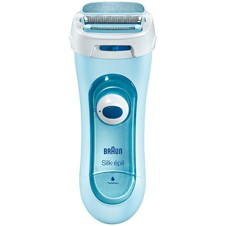 Braun Silk-Epil LS5160 Wet & Dry Lady Shaver/Epilator, Blue - Walmart.com
