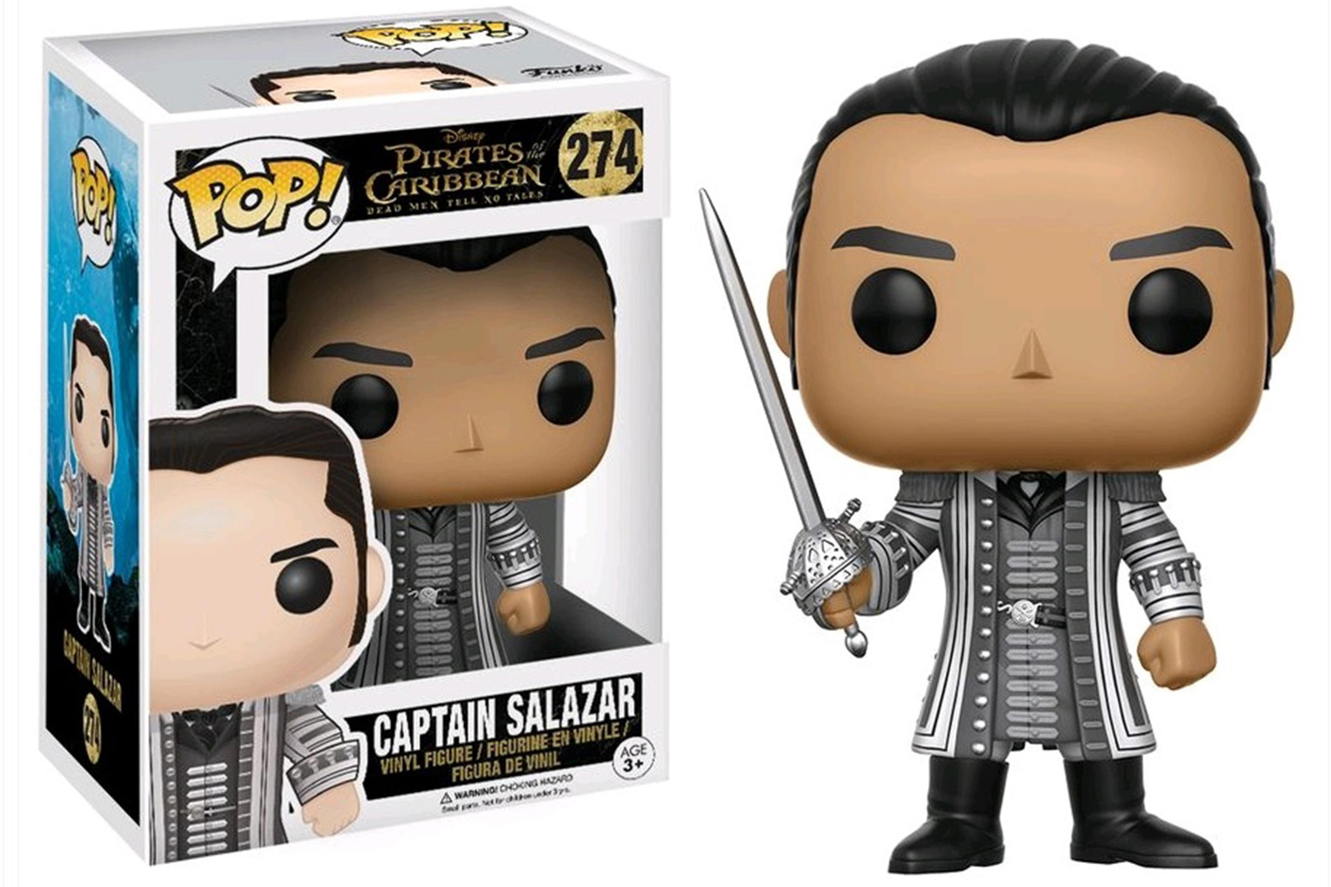 Vinyl New Toy FUNKO POP DISNEY: PIRATES OF THE CARIBBEAN CAPTAIN SALAZAR