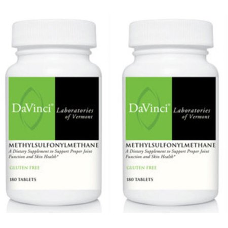 Douglas Labs 180 Tablets - Davinci Labs - MethylSulfonylMethane 1000mg 180 Tablets 2 PACK