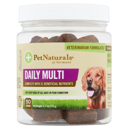 Daily multi pour chiens Daily Multivitamin Formula, 50 Bite grande taille Bouchées