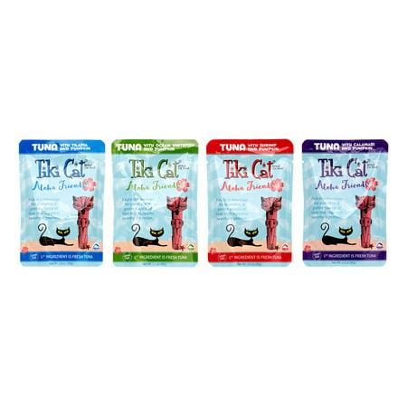 Tiki Cat Aloha Friends Grain-Free Tuna Variety Pack Wet Cat Food, 3 (Best Friends Cat Food)