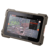 Wildgame Innovations Trail Pad Tablet Card Viewer, VU70 About Wildgame Innovations Trail Pad Tablet Card Viewer: The Trail Pad Tablet looks and performs like a tablet, with HD images and videos filling the oversized 7-inchtouch screen. But this isn't just any other tablet. It's a hunter's tablet –specifically designed to cater to all your game tracking needs. The weather-resistant viewer features dual, standard size SD card ports to sift through the hundreds of images and videos that every hunting season brings. Insert an SD card from your favorite trail cam into the library port to view every deer, hog, and turkey in HD quality. When you like what you see, send it over to the archive. This stores the best of the best on a second SD card so you can easily keep tabs on a single animal or the entire herd. That's right: no more endless scrolling to find that one picture you want to show your buddy. Ultimate bragging rights are within view.