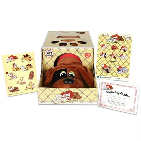 Pound Puppies Classic Plush - Wave 1 - Brown with Black