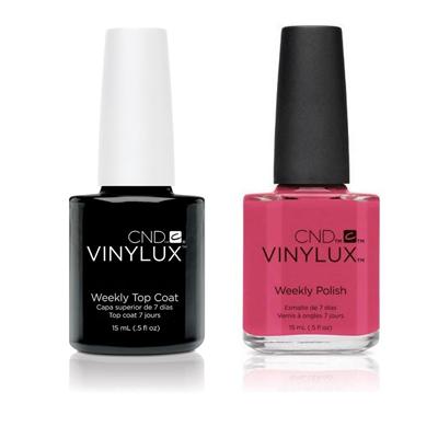 CND Creative Nail Polish .5oz/15mL - VINYLUX Top Coat & Irreverent ...
