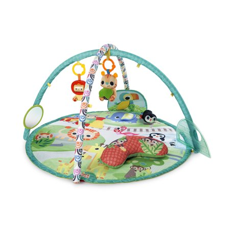 Bright Starts Activity Gym and Play Mat - Peek-A-Zoo