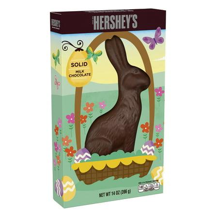 Hershey's, Easter Solid Milk Chocolate Bunny, 14 Oz