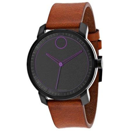 Bold leather Mens Watch 3600488
