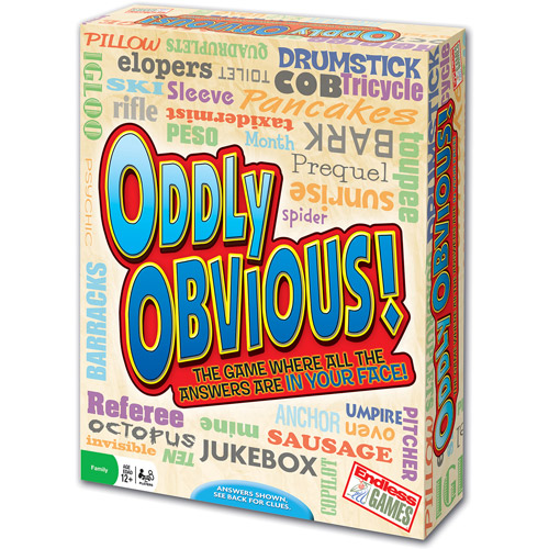 Endless Games Oddly Obvious Game by Endless Games