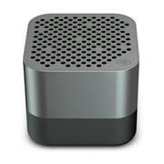 JLab Audio Crasher Micro Ultra Portable Bluetooth 4.1 Wireless Speaker - IP54 Rated Splashproof Dustproof 10 Hour Battery 600 mAh - Gunmetal
