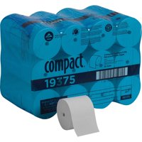 Compact, GPC19375, Coreless Recycled Toilet Paper, 36 / Carton, White