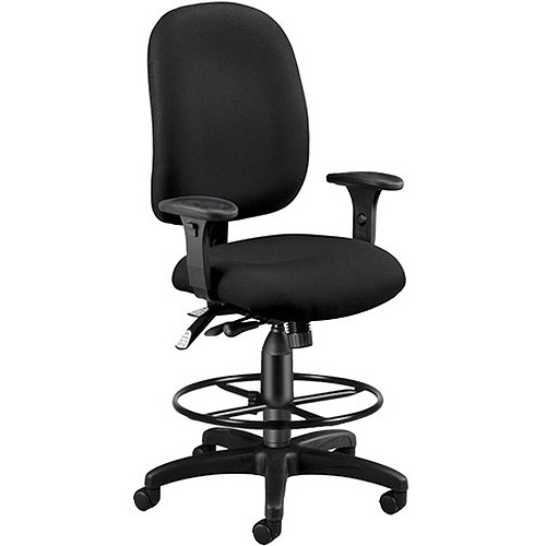 OFM Super Task Computer Chair with Drafting Kit