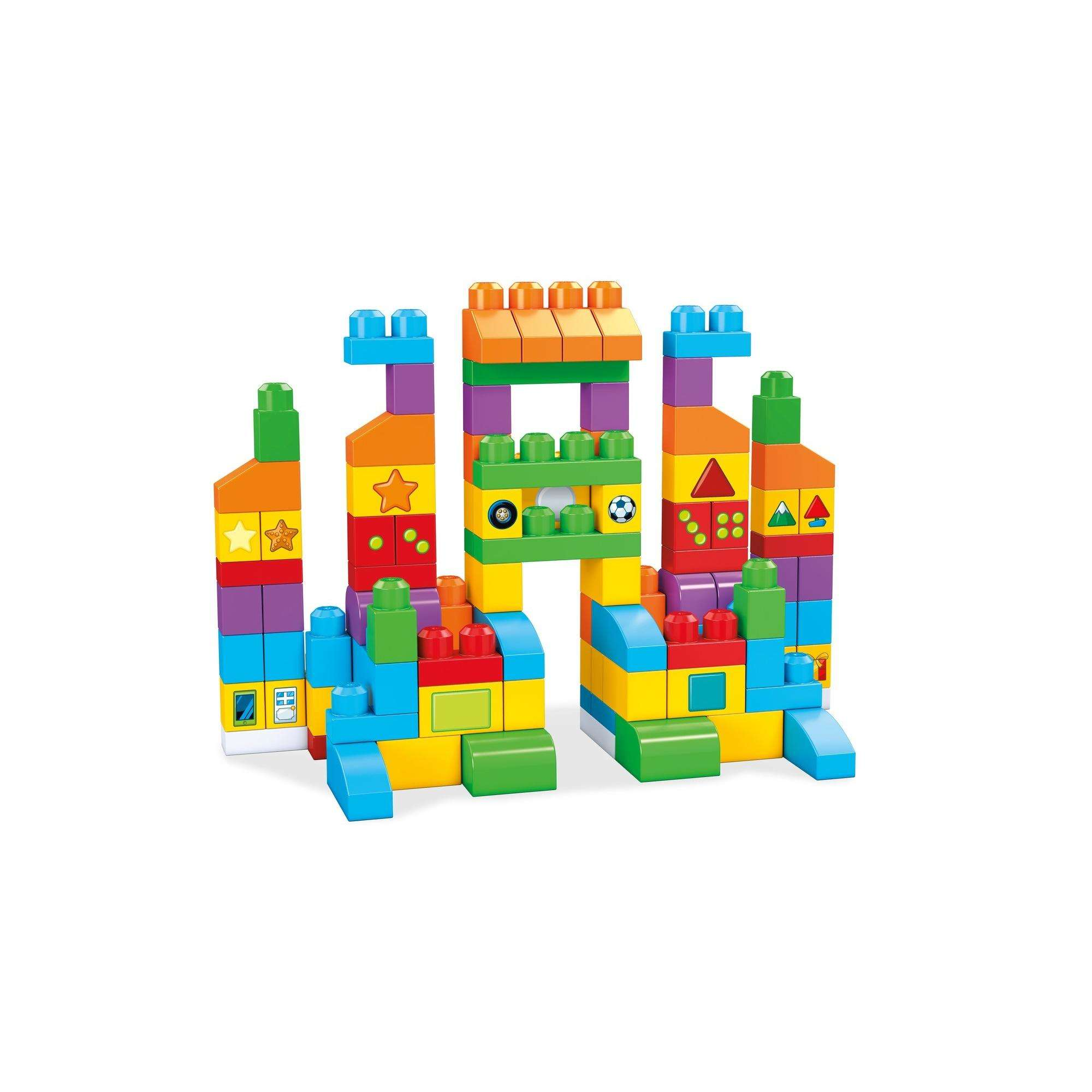 SNACK TIME 50 Piece MEGA BLOKS First Builders Set Mega Brands Inc.