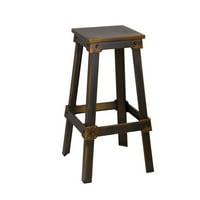 Fine Mod Imports Porch Bar Stool, Copper