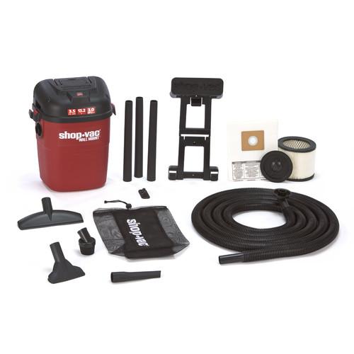Shop-Vac 3940100 3.5 Gallon 3.5 Peak HP Wall Mount Wet Dry Vacuum by Shop-Vac