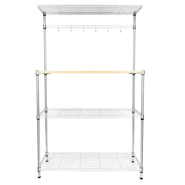 Kitchen Rack Microwave Shelf 4 Tier