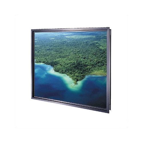 Da-Lite Da-Plex Rigid Rear Black Fixed Frame Projection Screen