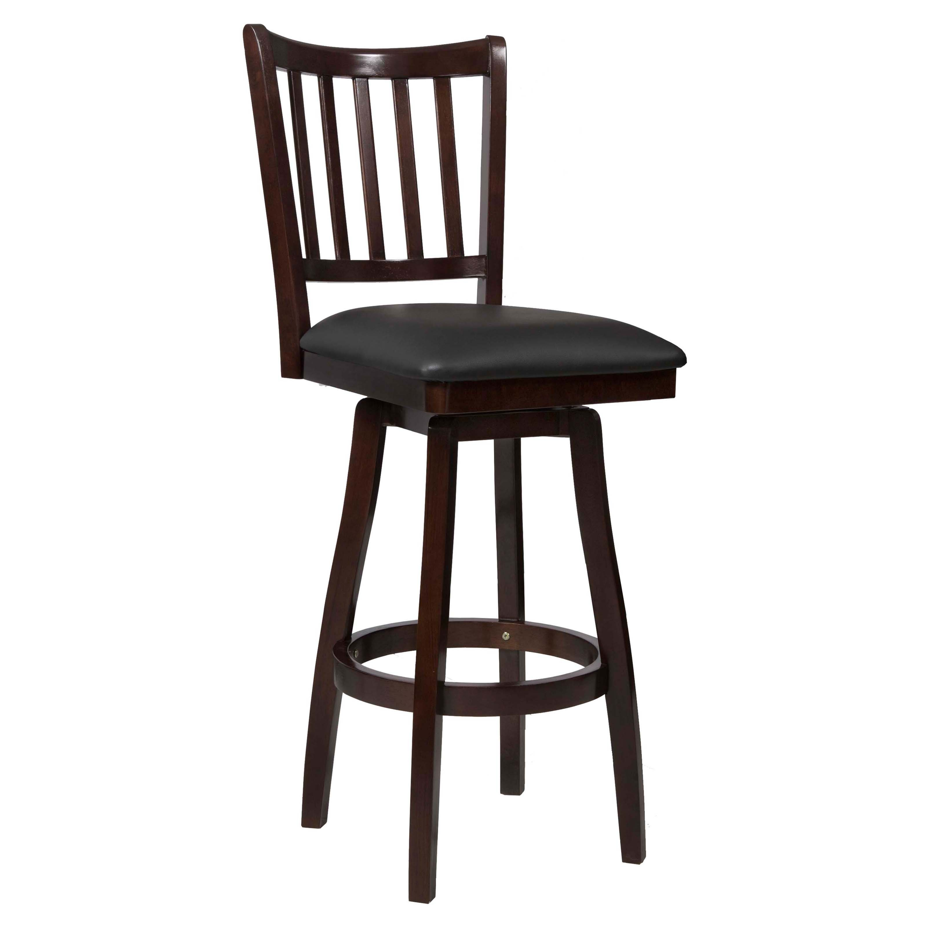 Powell Big Tall Slat Back Bar Stool Walmart Com
