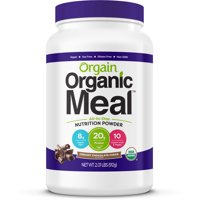 Orgain Organic Meal All-in-One Nutritional Powder, Chocolate, 21g Protein, 2.0lb, 32.0oz