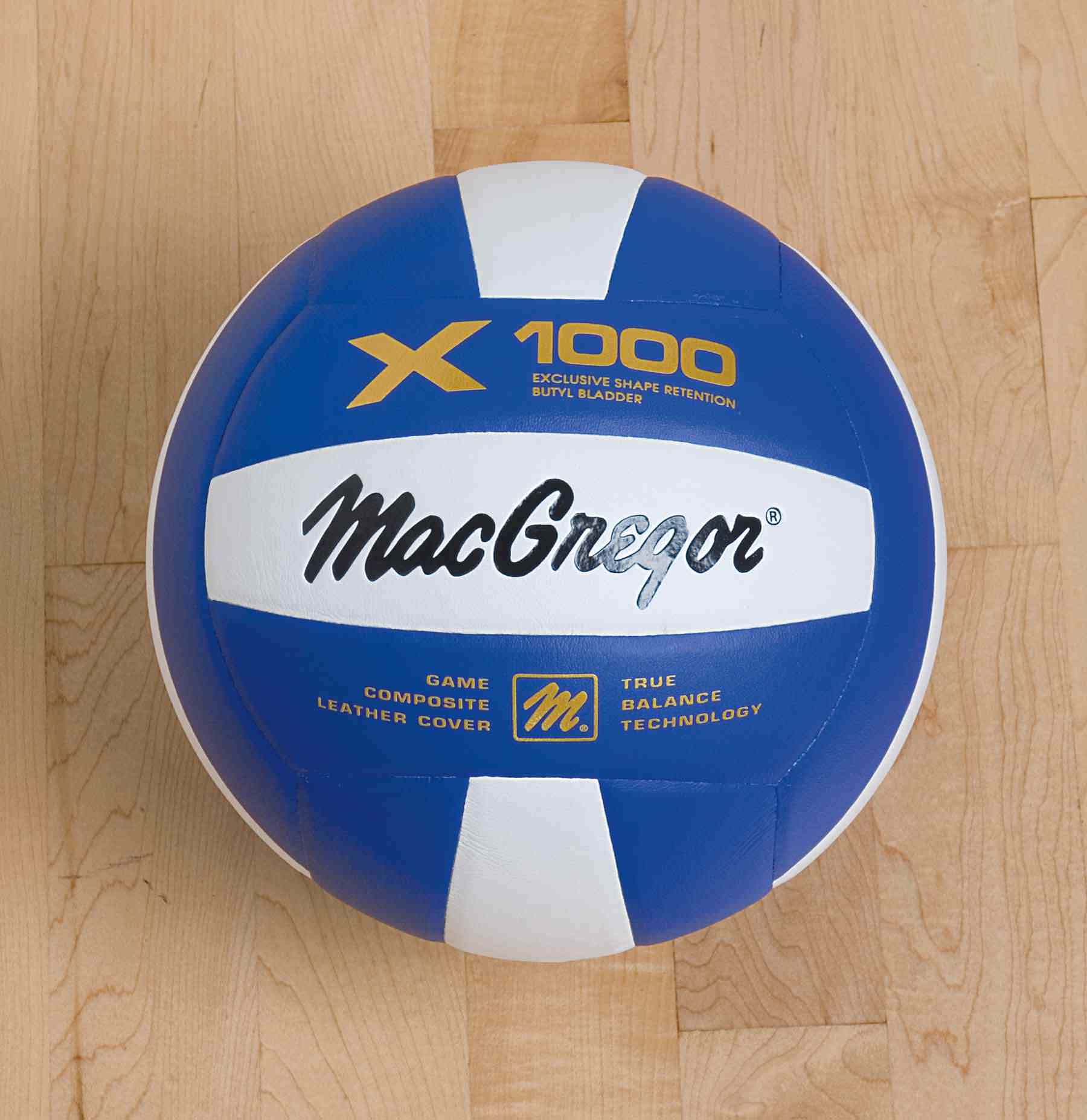 MacGregor® XL20 Composite Indoor Volleyball Blue/White
