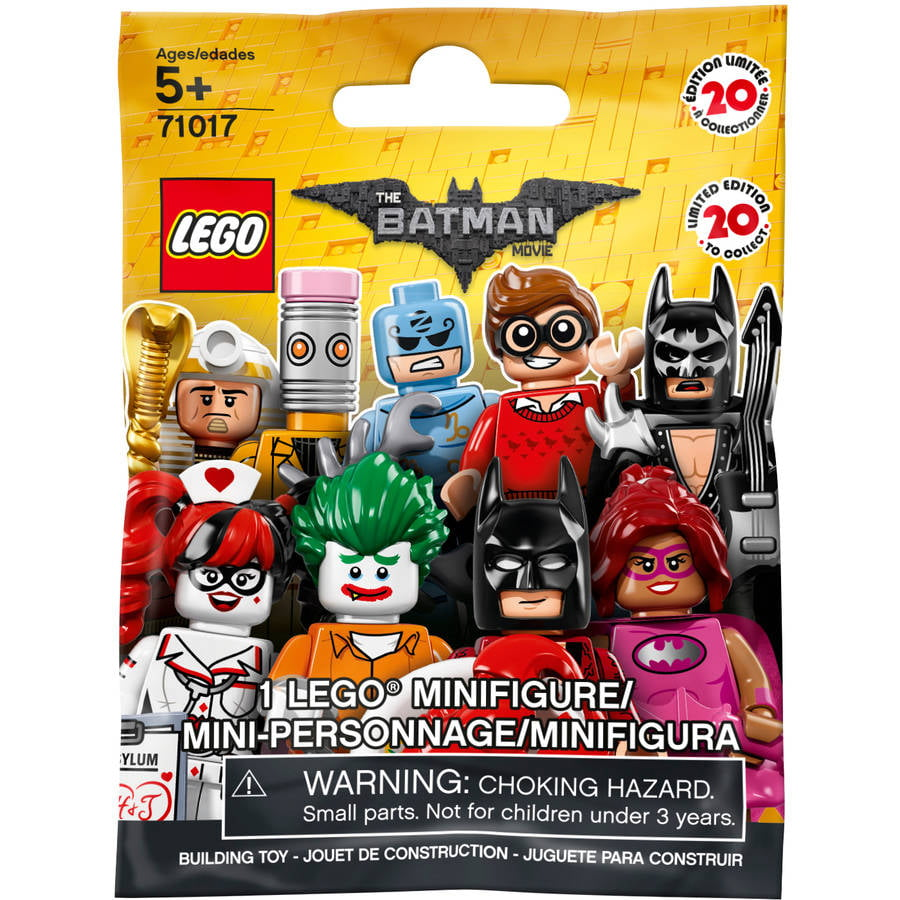 The Lego Batman Movie Minifigure Mystery Bag 71017 Walmart Com Walmart Com