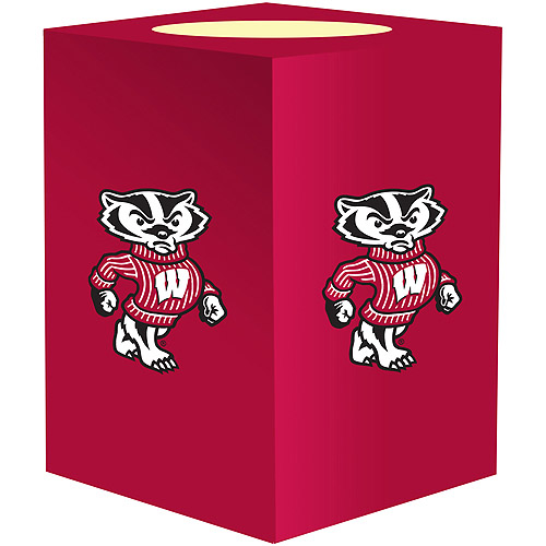 NCAA Flameless Candle, Wisconsin Badgers