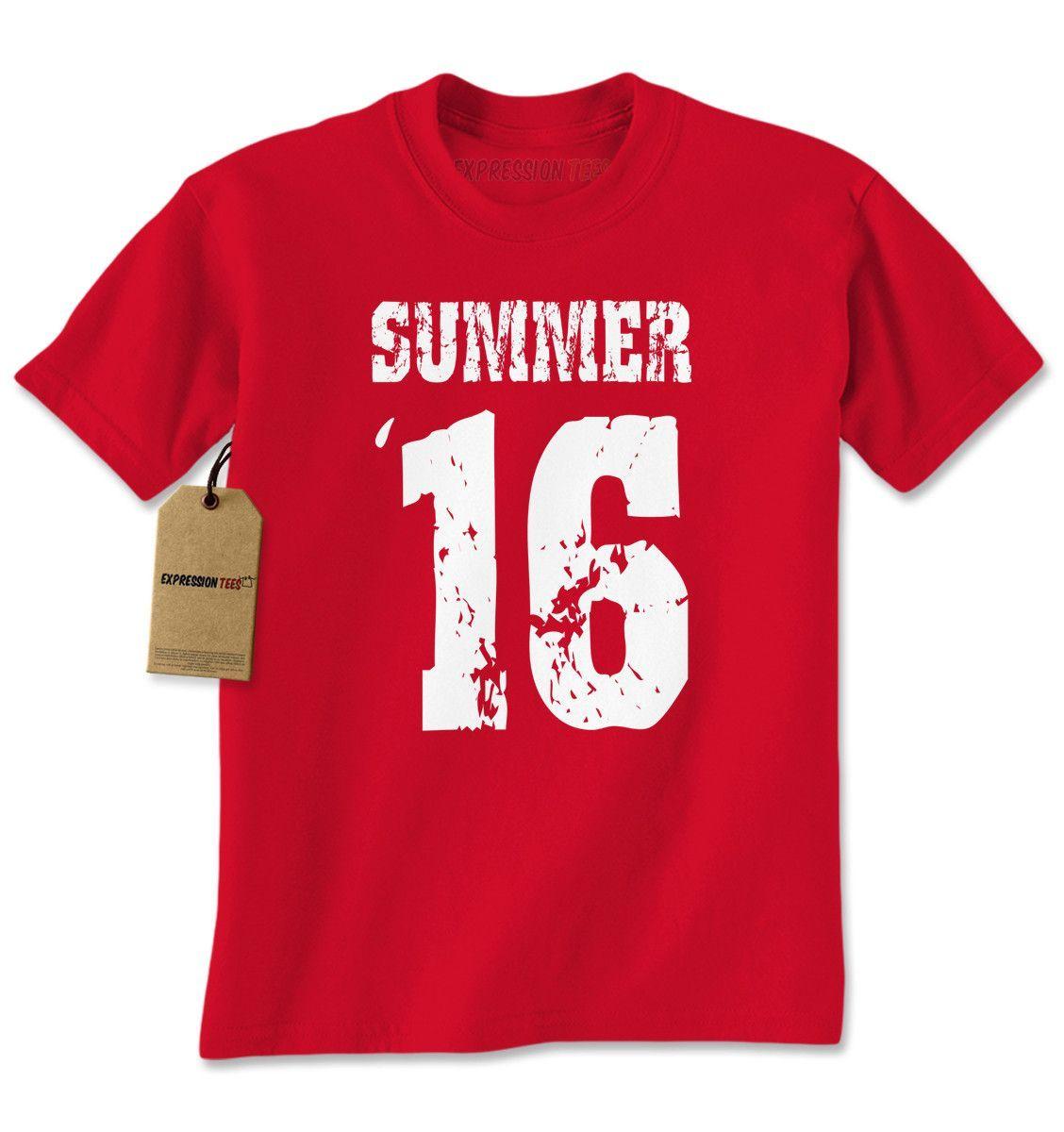 Summer '16 Summer 2016 Mens T-shirt