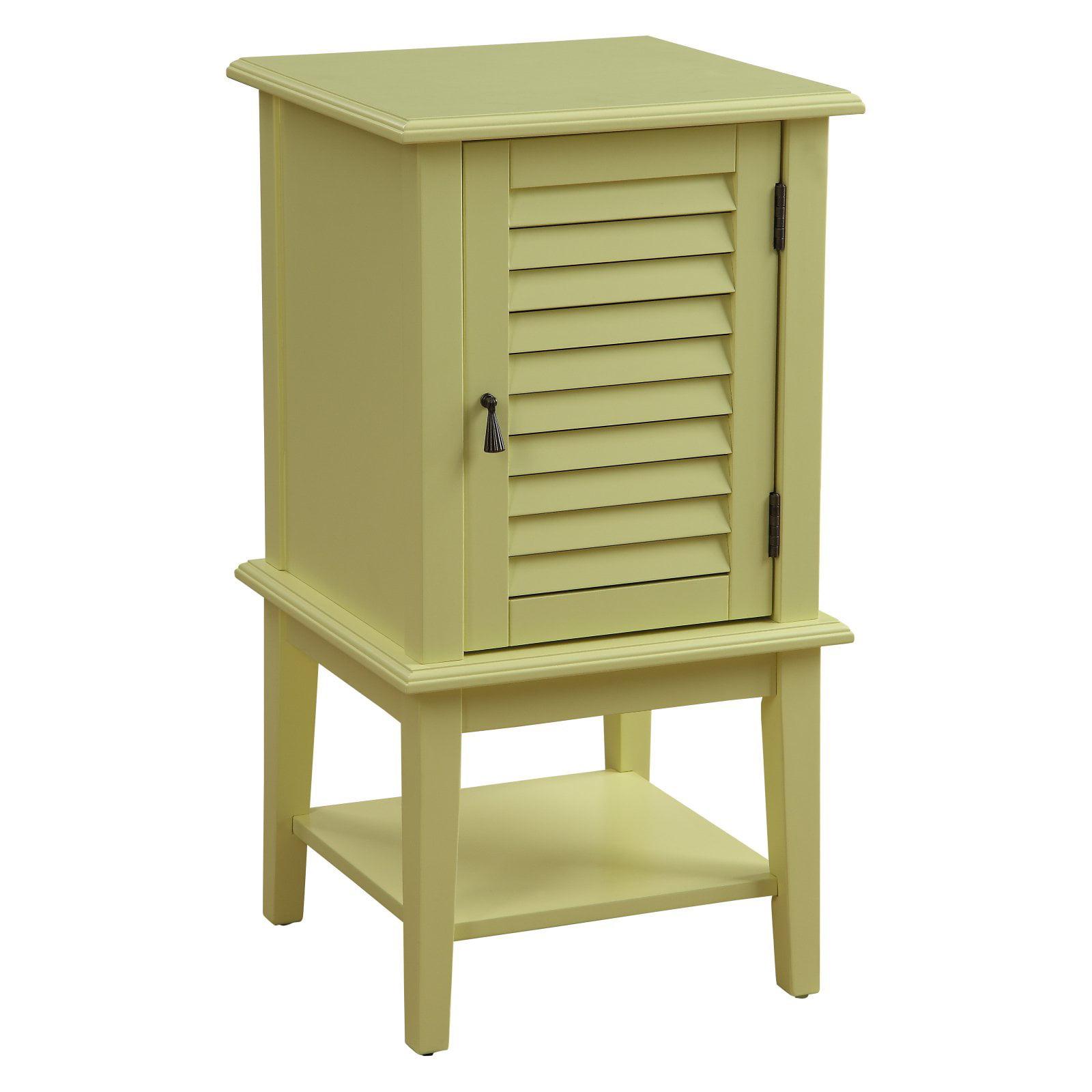 ACME Hilda II Floor Cabinet, Black
