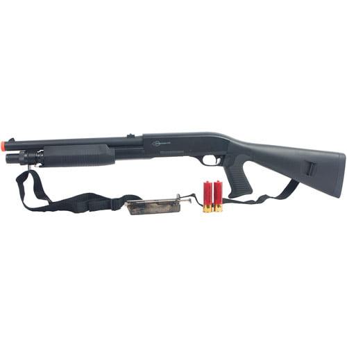 Firepower Multi-Shot Spring Shotgun, Black, M56A