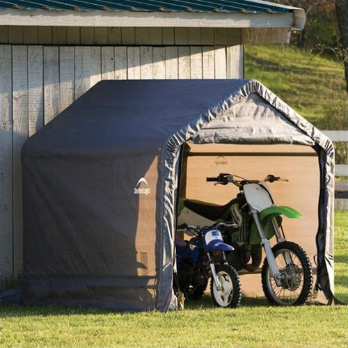 ShelterLogic Shed-In-A-Box Canopy Storage Shed - 6L x 6W x 6H ft.