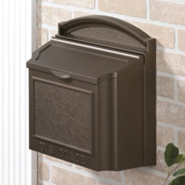 Wall Mounted Locking Mailbox Color: French Bronze by Whitehall Products LLC