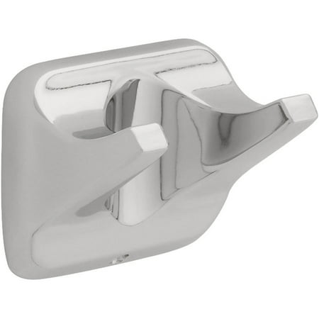 Bath Unlimited D2402PC Polished Chrome Futura Double Robe Hook