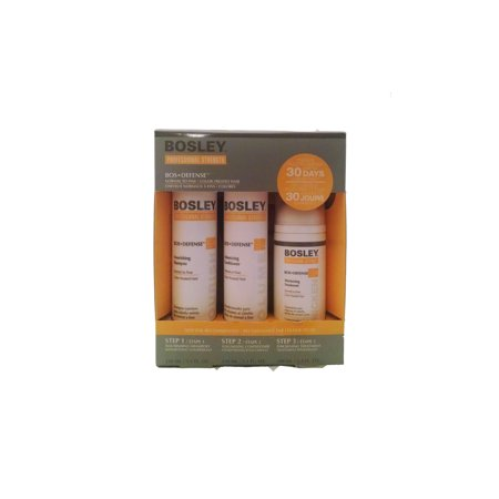 Defense Nourshing Starter Kit (Normal to Fine, Color treated hair) - Bosley - 13.60oz